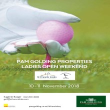 Pam Golding Ladies Open!!