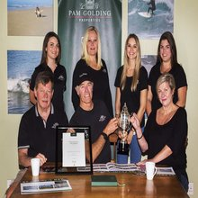 St Francis Bay Team Wins Trophy