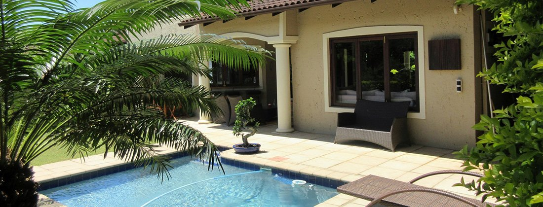 Secure residential estate in La Lucia, at a rental R24 000 per month through Pam Golding Properties.