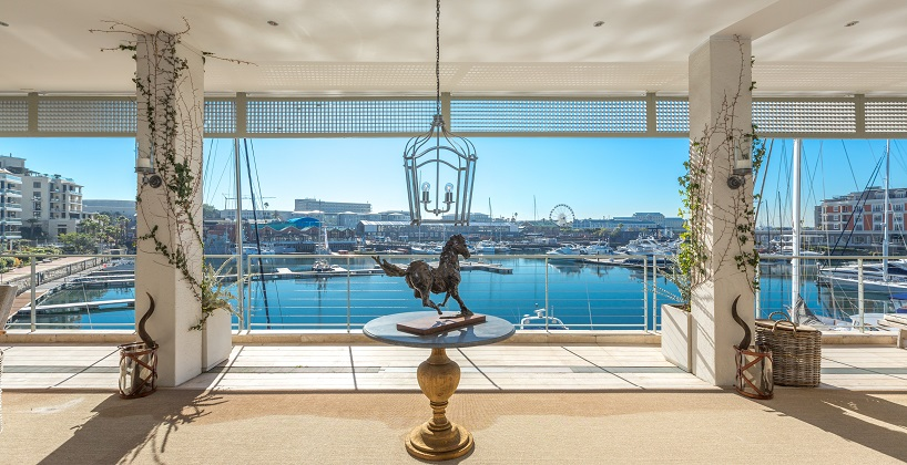 A luxury Waterfront apartment listed for R59 million