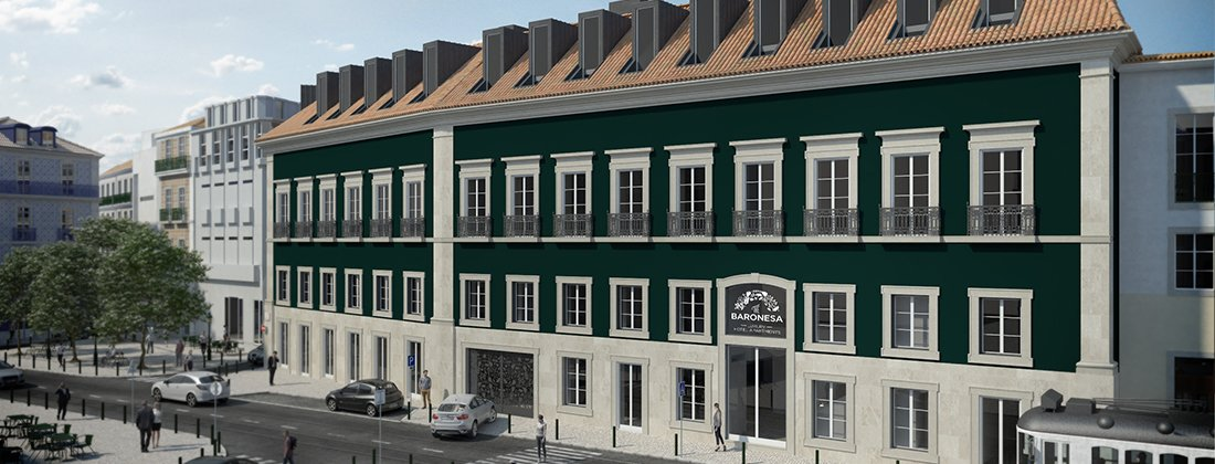 The Baronesa Luxury Hotel Apartments Lisbon Developments For