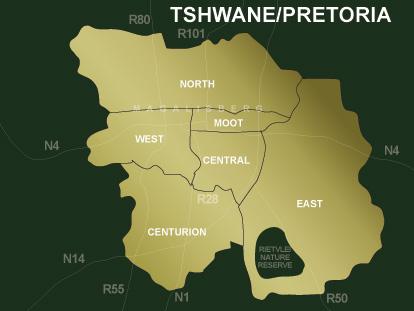 Property Pretoria Real Estate Map Search  Pam Golding