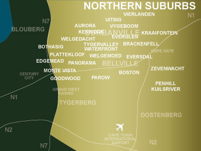 map of south africa cape town. Property in South Africa,